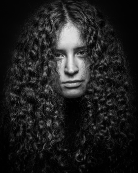 langes Haar