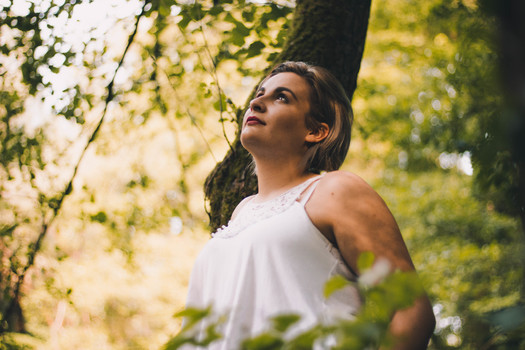 Nature Feeling - Portrait Shooting im Wald