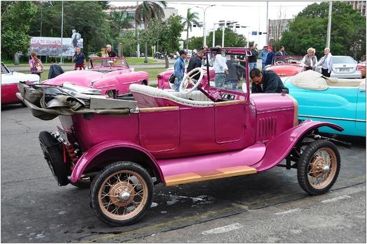 Kuba, La Habana, Oldtimer
