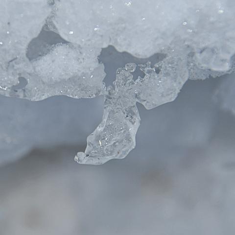 Kleine Eiswelt