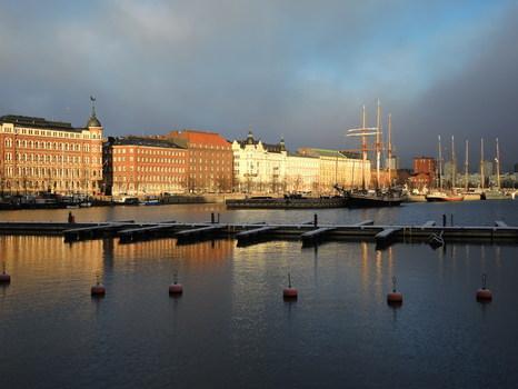 Morgens in Helsinki