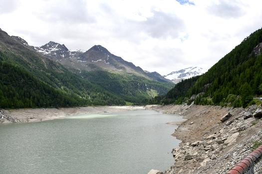 Martell Tal mit Zufrittsee (Lago Gioveretto)