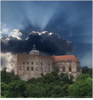 Ernstbrunn - kurz vor dem Gewitter