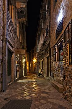 one night in Kotor