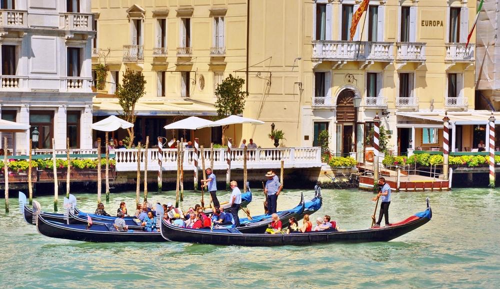 Gondola... ( Canal Grande - Mündung ) 2