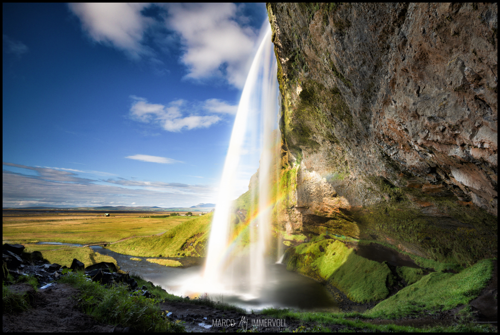 Seljalandsfoss zu mittags
