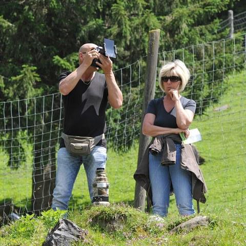 Fotograf mit Assistentin :-)