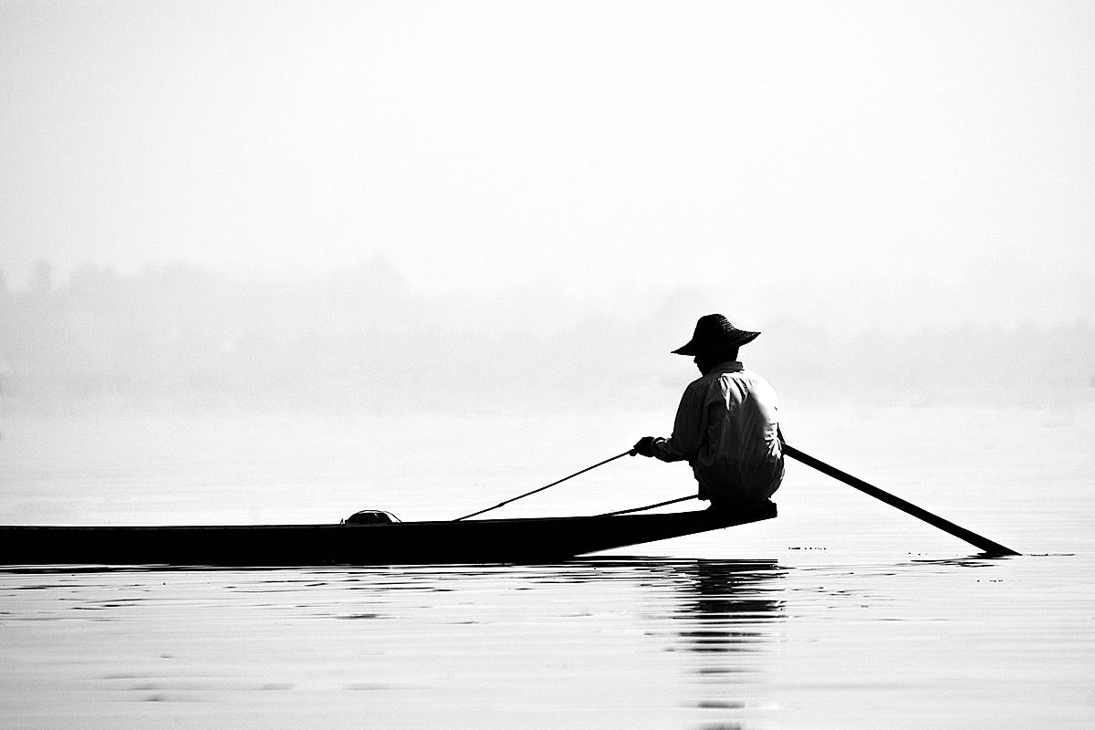 Fischer am Inle-Lake