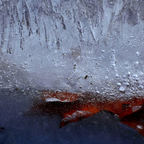 Bisschen Farbe in Eis