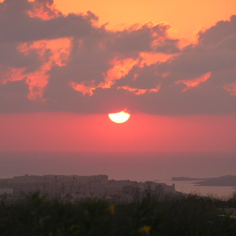 Sonnenaufgang auf Gozo