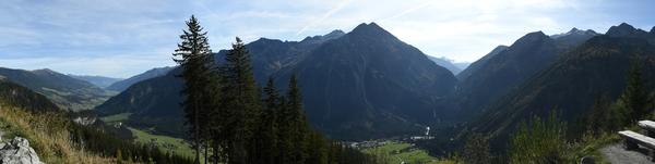 Der Oberpinzgau bis zu den Krimmler Wasserfällen