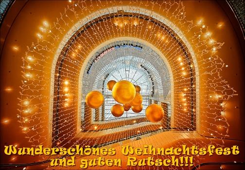 Frohes Fest Euch allen!!!