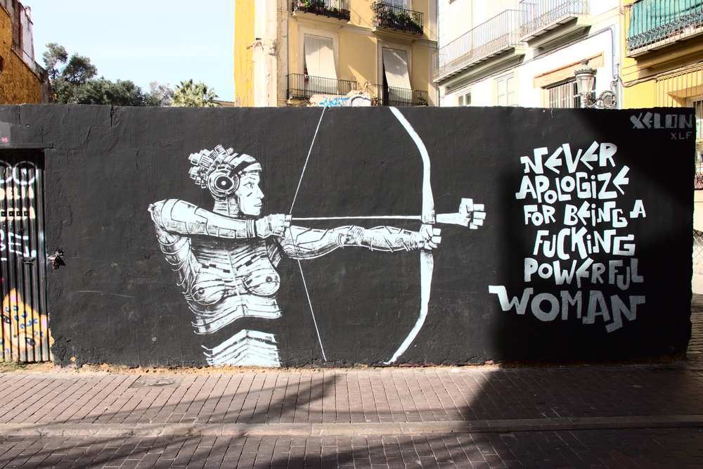 Graffiti in Valencia