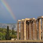Tempel des Olympischen Zeus  Griechenland - Athen