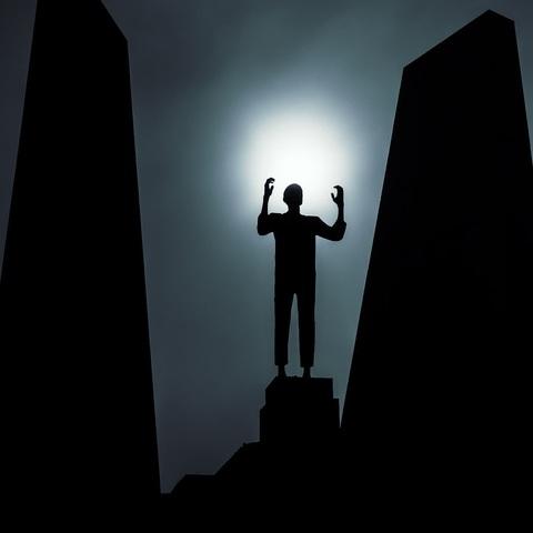 Statue in Mauthausen