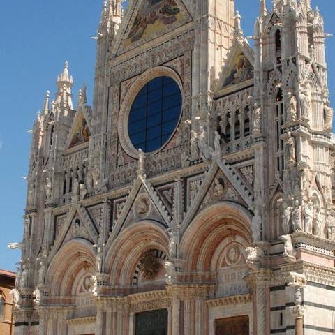 Siena der Dom ohne Bauarbeiten