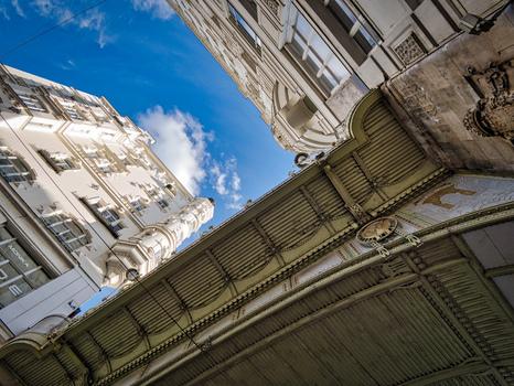 Hohe Brücke (Wipplingerstraße/Tiefer Graben), Wien