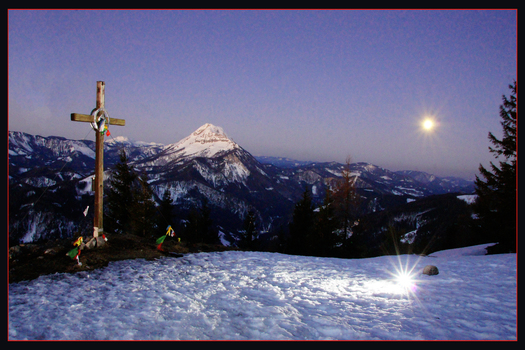 Hochstadelberg blick richtung Ötscher