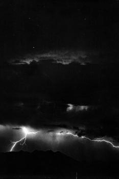 Blitz und Sterne