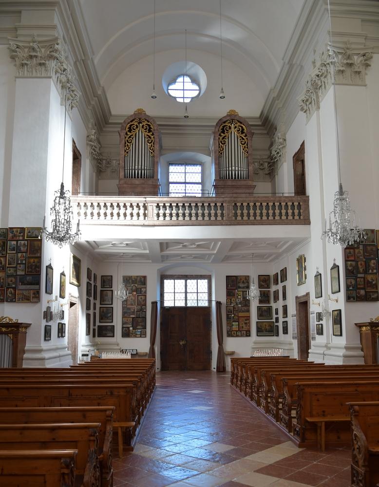 Orgel mit Empore von Maria Kirchental