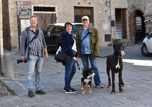 F.atler Ausflug in die Toskana ...