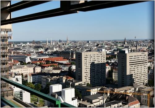 Wien, Blick nach Süden
