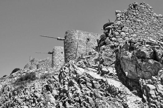 Alte kretische Windmühlen...