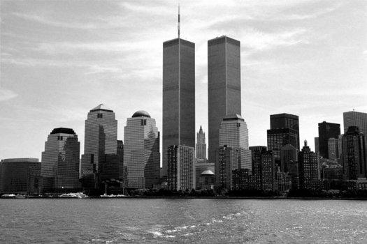 Manhattan Skyline pre September 11