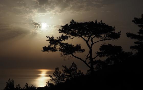 Sonnenaufgang auf Karpathos