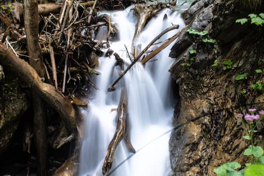 Waterfall, Long Exposure, Stans ( Tirol/Austria)