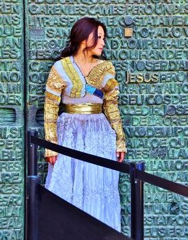 Bronzetür der Sagrada Familia / Barcelona