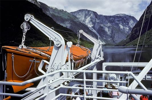 Fjordfahrt in Norwegen