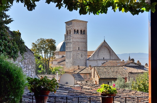 Kathedrale San Rufino - Assisi / Umbrien / Italien