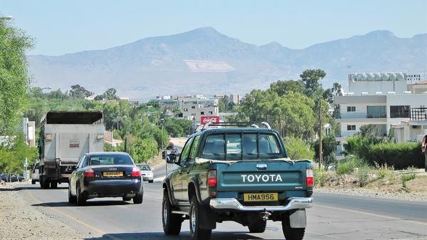 Nahe Nikosia (Lefkoşa) / Zypern...
