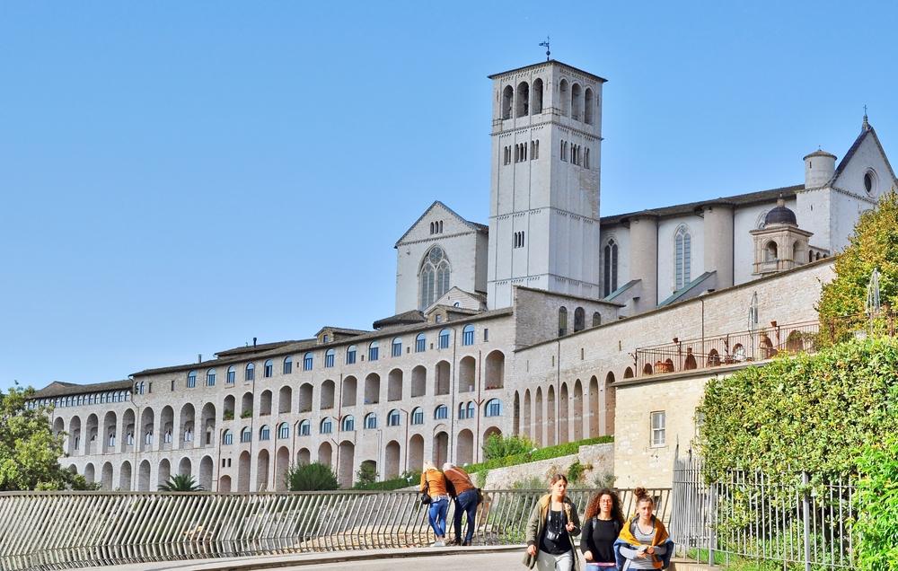 Basilika San Francesco - Assisi / Umbrien / Italien (3)