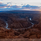 sonnenuntergang am fishrivercanyon