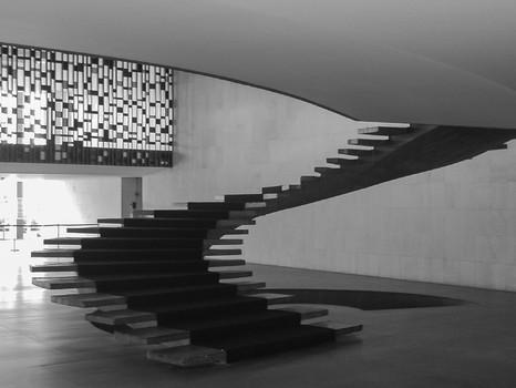 Treppe von Niemeyer