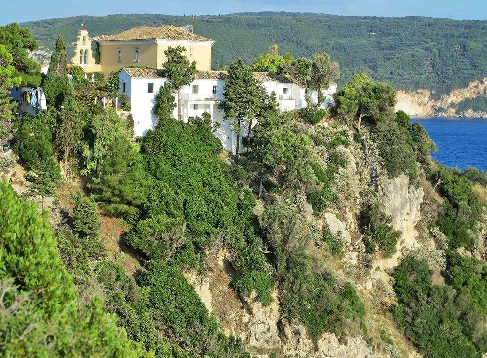 Kloster Panagia Theotokos tis Paleokastritsas / Korfu