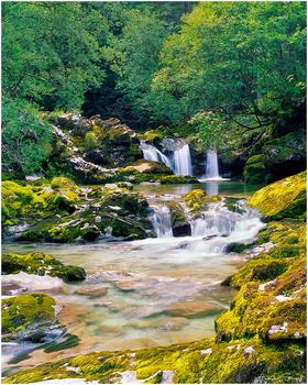 Kleine Wasserfälle II Analog