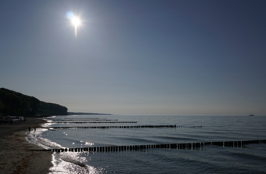 Der Strand von Heiligendamm