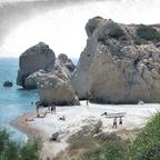 Aphrodite-Felsen (2) / Paphos - Kouklia / Zypern