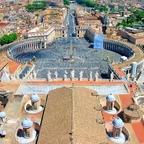 Petersplatz - Vatikan / Rom (2)