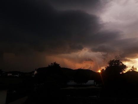 Gewitter Wolken