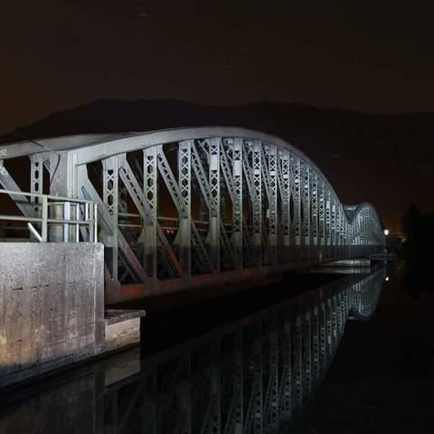 Eisenbahn Brücke bei Strau