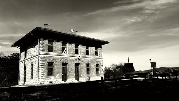 Altes Bahnhofs Gebäude