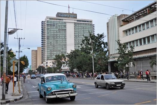 Kuba, La Habana, Hotel Habana Libre