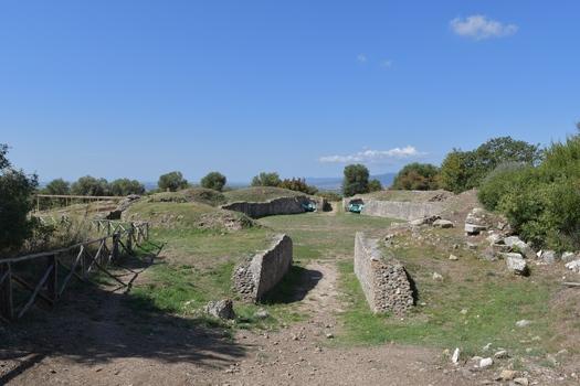 Römisches Theater in Roselle