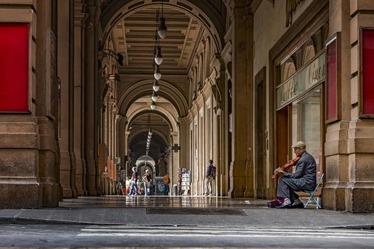 Strassenmusiker in Florenz