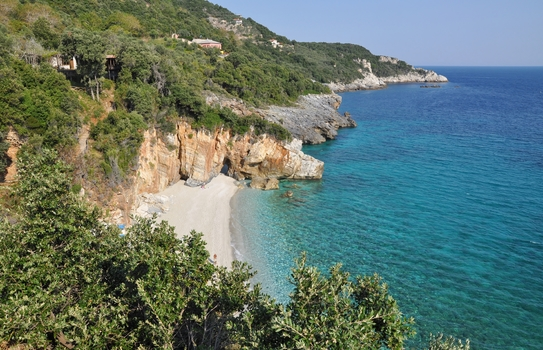 Milopotamos-Beach (Pilion) Griechisches Festland