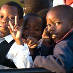 Afrika #11 - Schulkinder